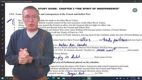 Thumbnail for entry Chapter 3 Study Guide