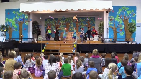 """Thumbnail for entry St. Louis School 5th Grade """"Wing It"""" Musical"""
