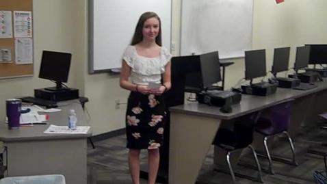 Thumbnail for entry Shiloh Smith Speech 1