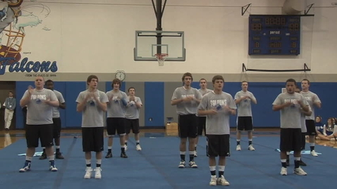 Thumbnail for entry Junior Male Cheerleading Performance