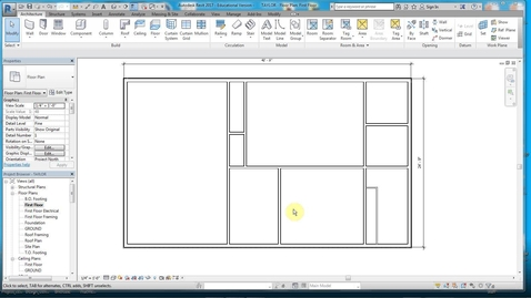 Thumbnail for entry REVIT 2 -DOORS & OPENINGS