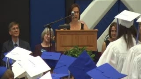 Thumbnail for entry Ladue High School Graduation Ceremony 2012 - Charge to the Class