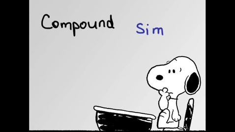 Thumbnail for entry Simple, Compound, and Complex Sentences