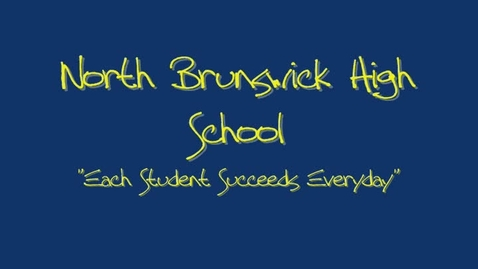 Thumbnail for entry North Brunswick High School 2010