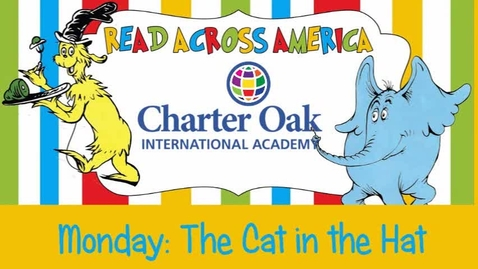 "Thumbnail for entry Read Across America Week:  ""The Cat in the Hat"""