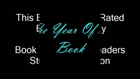 Thumbnail for entry The Year of the Book Student Book Trailer