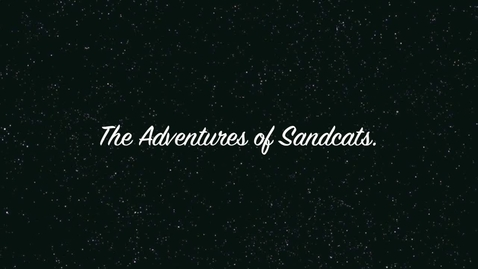Thumbnail for entry The Adventures of Sandcats