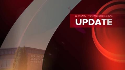 Thumbnail for entry Spring City Elementary Hybrid Learning School Open House