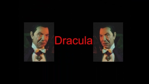 Thumbnail for entry Dracula Book Trailer by Robert