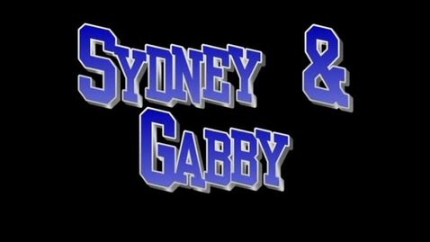 Thumbnail for entry Interview Sydney & Gabby