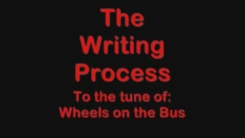 Thumbnail for entry Writing Process