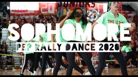 Thumbnail for entry DREYFOOS SOPHOMORE PEP RALLY DANCE 2020