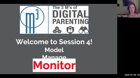 Thumbnail for entry Digital Parenting 3 M's - Session 4_ Monitor