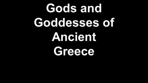 Thumbnail for entry  Greek Gods/Goddesses