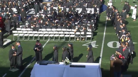 Thumbnail for entry Segerstrom Fundamental H.S. Commencement 2013 (Part 4)