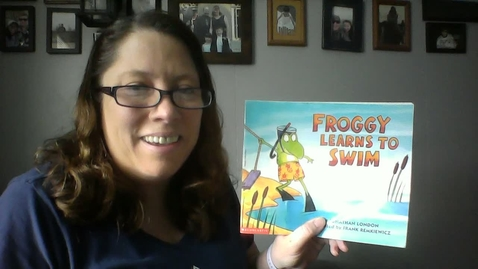 Thumbnail for entry Froggy Learns to Swim Read Aloud.