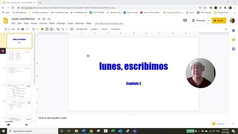 Thumbnail for entry CP 2 LUNES ESCRIBIMOS