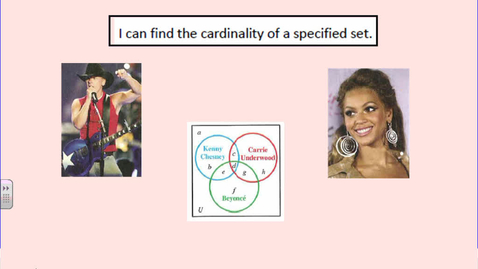 Thumbnail for entry Surveys and Cardinality of Sets
