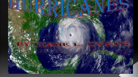 Thumbnail for entry Hurricans Thane L. Evans