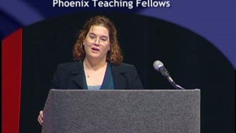 Thumbnail for entry Phoenix Teaching Fellows