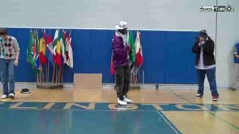 Thumbnail for entry Burlington High School International Week  French Freestyle