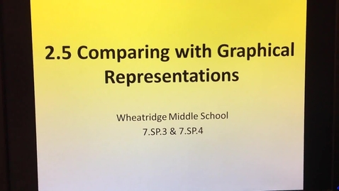 Thumbnail for entry 2.5 Comparing Graphical Representations