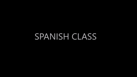 Thumbnail for entry 1st Prerecorded Spanish Class Kinder