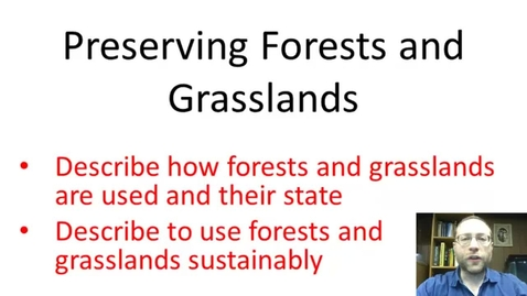 Thumbnail for entry Preserving Forests and Grasslands