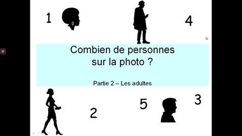 Thumbnail for entry Combien personnes photo - Adultes