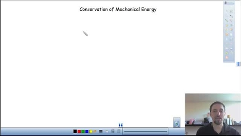 Thumbnail for entry conservation of mechanical energy
