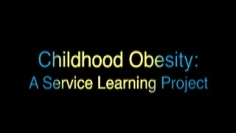 Thumbnail for entry CHILDHOOD OBESITY 1