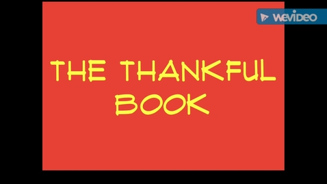 Thumbnail for entry The Thankful Book