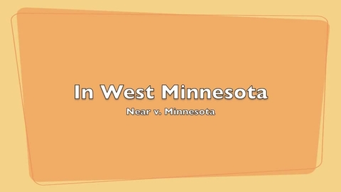 Thumbnail for entry In West Minnesota - Larson and Elvir