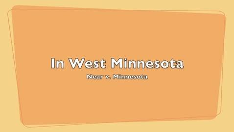 Thumbnail for entry In West Minnesota - Larson and Elvir