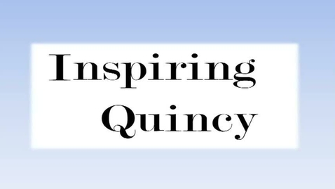 Thumbnail for entry Inspire Quincy September 17, 2014