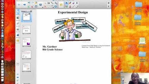 Thumbnail for entry 1.2 - Experimental Design