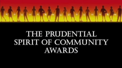 Thumbnail for entry Prudential Spirit of Community Awards