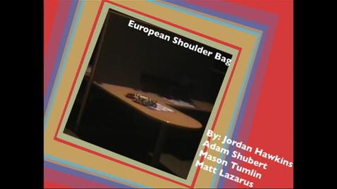 Thumbnail for entry European Shoulder Bag