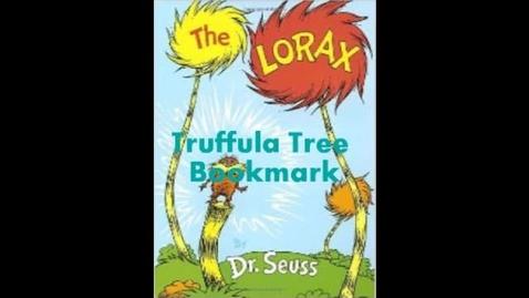 Thumbnail for entry Finger Knit a Truffula Tree Bookmark