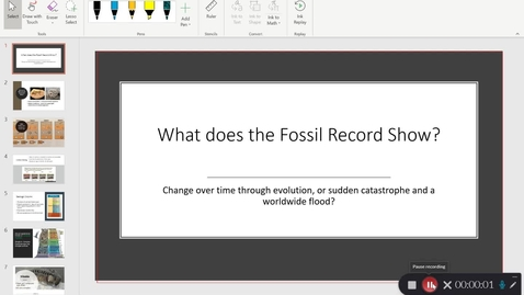Thumbnail for entry What Does the Fossil Record Show?