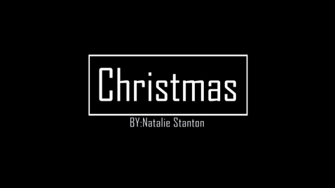 Thumbnail for entry Christmas - WSCN Editorials 2018/2019