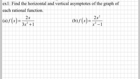Thumbnail for entry What are asymptotes? part2
