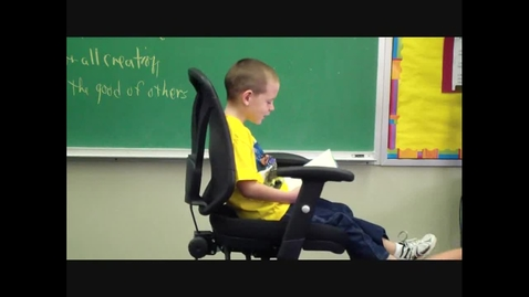 Thumbnail for entry Literacy Week PSA - Andrew Case