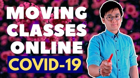 Thumbnail for entry COVID-19 OUTBREAK: MOVING SCHOOLS TO ONLINE INSTRUCTION DUE TO SUSPENSION AND LOCKDOWN | VLOG #64