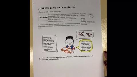 Thumbnail for entry Texto Informativo: ¿Quién puso las galletas en el tarro?  (Palabras Claves de Contexto)