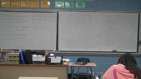 Thumbnail for entry Algebra II 10-27-11
