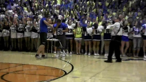 Thumbnail for entry ROCKLIN HIGH SCHOOL SPIRIT/RALLY POINT UPDATE 13'