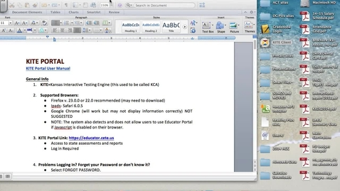 Thumbnail for entry KITE:  Creating Formative Assessments