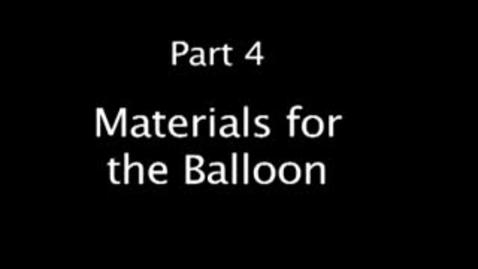 Thumbnail for entry Part 4 Make a Hot Air Balloon