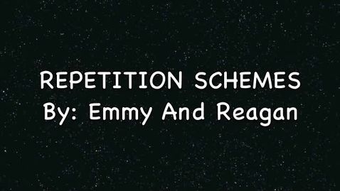 Thumbnail for entry Schemes: Repetition